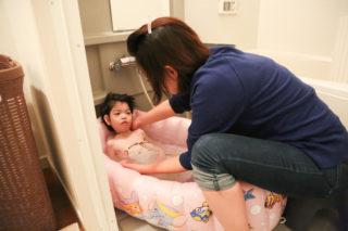 医療的ケア児 お風呂